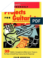 DIY Projects for Guitarists - Craig Anderton