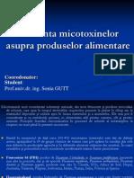 prezentare influenta micotoxine