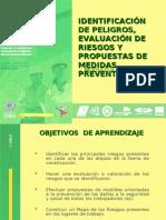 IDENTIFICACIÓN DE PELIGROS, EVALUACIÓN DE RIESGOS Y  PROPUESTAS DE MEDIDAS PREVENTIVAS