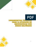 Lineamientos Tecnicos Acido Sulfurico