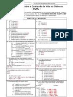 Questionário sobre a Qualidade de Vida no Diabetes_CODIFICADO