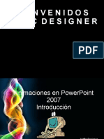 Animaciones en Power Point 2007