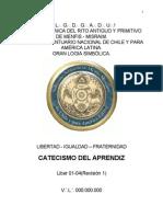 Liber 01 04 Revisi n 1 Catecismo Del Aprendiz