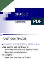Grade 6 Grammar