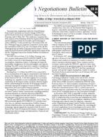 Earth Negotiations Bulletin - SB36 - Curtain Raiser