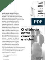 Diálogo entre cinema e vídeo - Arlindo Machado