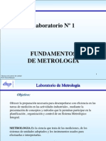 UNEXPO Lab. Tema 1 Fundamentos de La Metrologia
