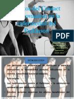 Efectos de la Improvisación de Contacto en la enfermedad del Parkinson
