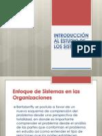 Enfoque de Sistemas en Las Organizaciones