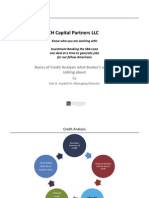 CH Capital Credit Risk Analysis