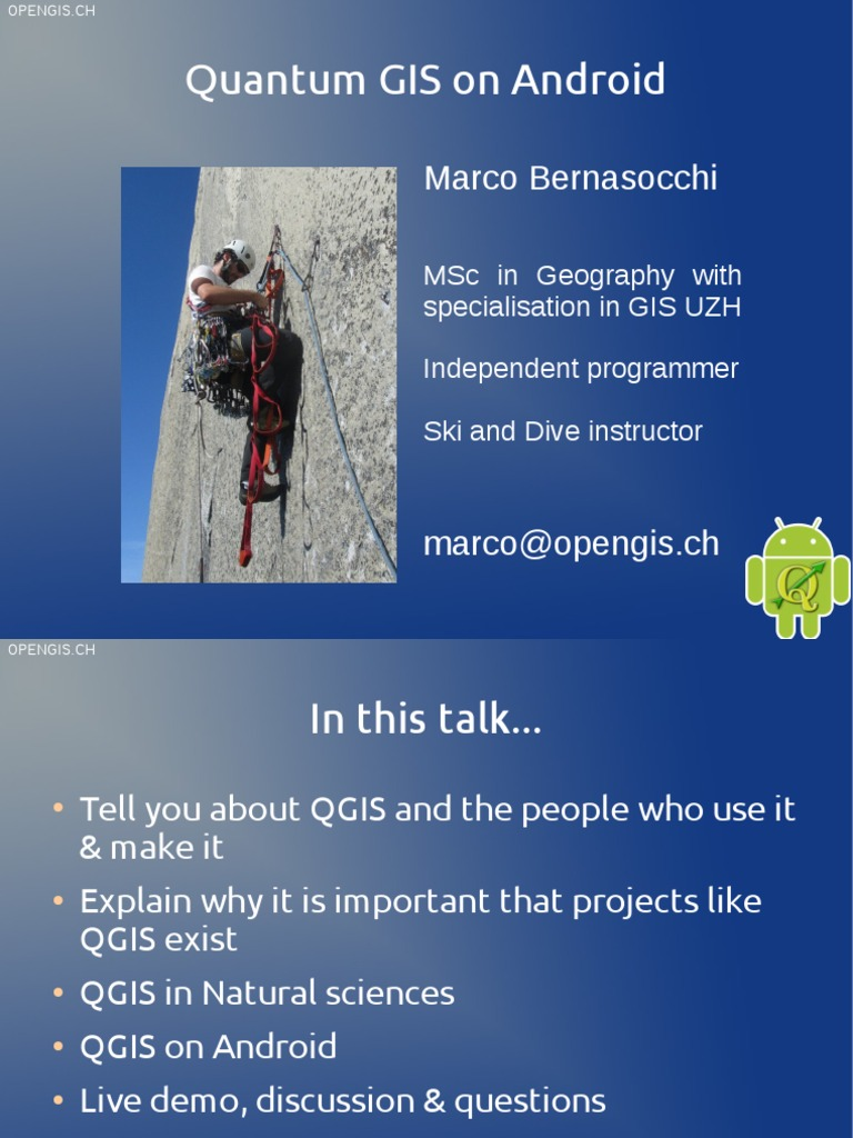 Qgis for Android | Computing | Technology
