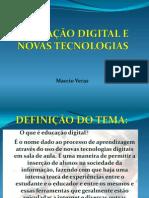 EDUCAÇÃO DIGITAL E NOVAS TECNOLOGIAS