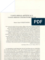 Vanguardias Artistic As y Vanguardias Cinematograficas
