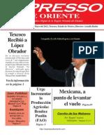 Expresso de Oriente 14 de Mayo Del 2012