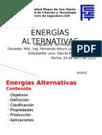 Presentación Energias Alternativas