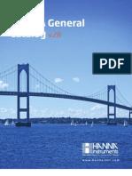 HANNA General Catalog v28 Chapter0 Introduction