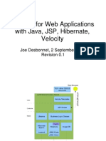 Web Applications With Java JSP Hibernate Ve