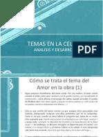 Temas de Celestina Analisis Literario