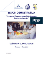 Guia de Taller de Sesiones Demostrativas
