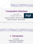 TranspositionDidactique
