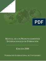 Spanish Translation Normas Internacionales de Formacion 2008