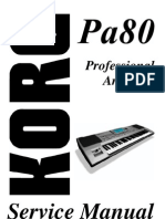 Korg pa 50 service manual free download.
