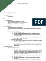 DIREITOS DAS OBRIGAÇÕES - resumão