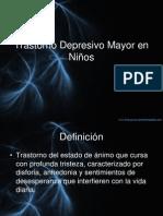 Trastorno Depresivo Mayor en Niños