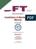 Manual de instalación y mantenimiento (OC 4100001546 – Cerro de Pasco y OC 4100001550 – Carahuacra)