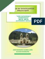 Plan de Desarrollo Sativanorte 2012-2015