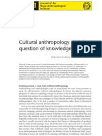 FabianAnthropology&Knowledge