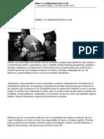 Manifiesto Por La Autonomia y La Democracia - Universidad Nacional de Colombia