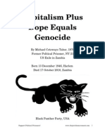 39646577 Capitalism Plus Dope Equals Genocide by Michael Cetewayo Tabor RIU