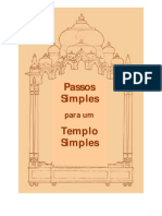 Radhanath Swami - Passos Simples Para Um Templo Simples