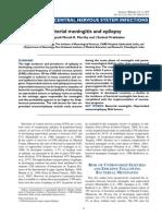 Bacterial Meningitis and Epilepsy