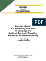 meganfreudigmanncurriculumvitae2012