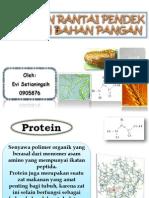 Protein Rantai Pendek Dalam Bahan Pangan