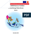 National Energy Policy Review Malaysia