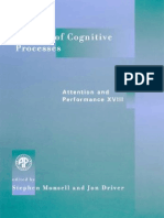 Control of Cognitive Processes