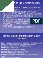 Definisi Sistem_ Informasi Dan Sistem Informasi