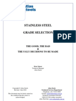 Stainless Steel Grade Selection Rev July 2010