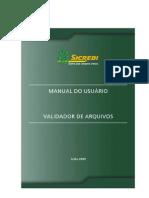3361 Manual Validador de Arquivos
