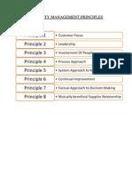 8 Quality Management Principles