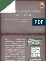 La Arquitectura Bioclimatica-FAU