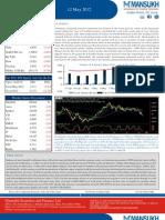 weekly market outlook 14.05.12,