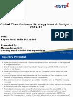 Global Tires Meeting 2012 - 13