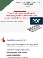 proiect sudare PP