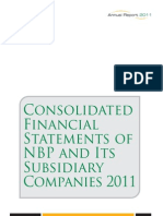 NBP Consolidated Financials FTYE December 2011