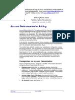 Account Determnation