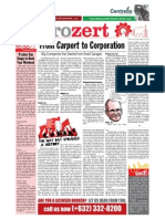 The Metrozert (Issue No. 3) - Labor Day Issue